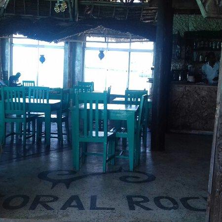 Coral Rock: Sala ristorante. .
