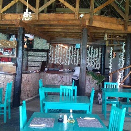 Coral Rock: Sala ristorante. ..