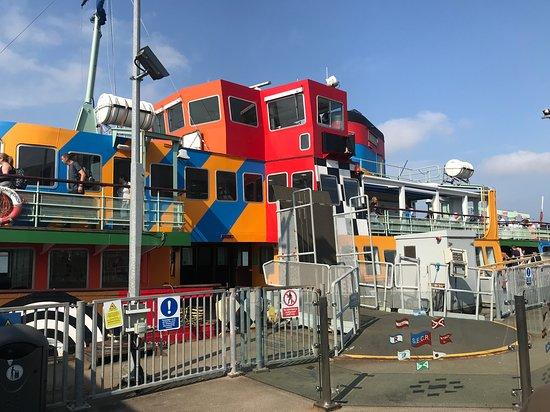 Crucero de 50 minutos por el río Mersey de Liverpool: Ferry across the Mersey