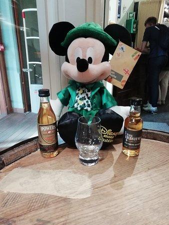 Irish Whiskey Museum Experience Ticket: Micky Mouse even enjoyed the Irish Whiskey Museum