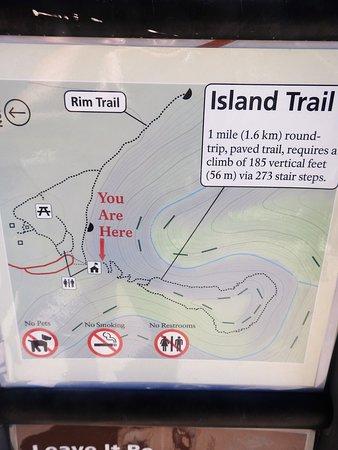 Loop Island Trail Map