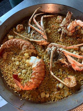 La Mariterranea Formentera: Paella de Langosta de Formentera