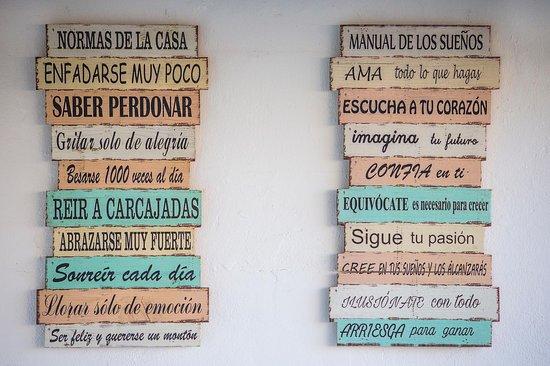 La Mariterranea Formentera: Las normas de la casa :-)