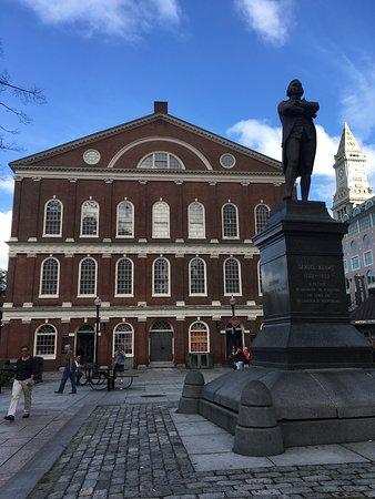Statue of Samuel Adams at Faneuil Hall