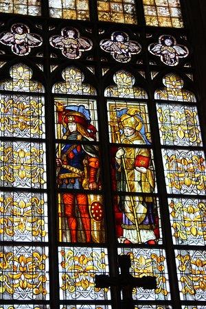 Soest, Wiesenkirche (Our Lady in the Fields), stained glass window