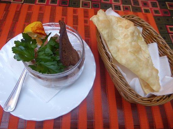 Kochevnik: Saguday (raw fish)