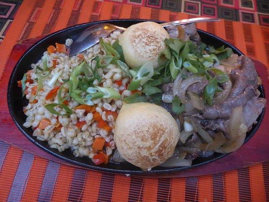 Kochevnik: Bayangol (Mongolian dish with lamb)