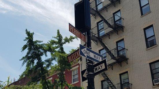 Carrie's street!