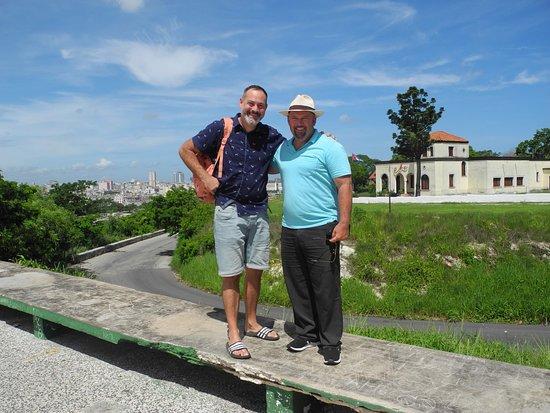 Visita a la Habana  Veronique olivier et enfants