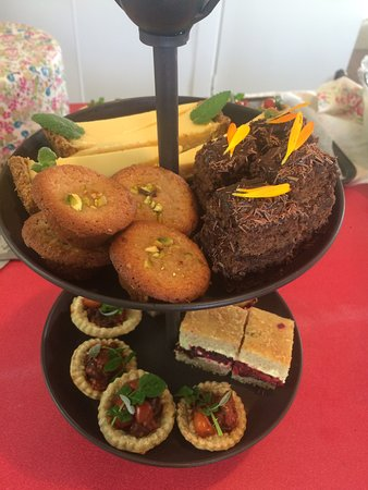 The High Tea Lady: The High Tea selection. Sweet, savoury and scones.