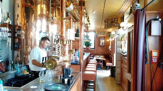 Radeberger Spezialausschank: 1st floor - Bar.