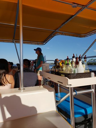 Panama City Beach Sunset Catamaran Sail on The Privateer: The bar
