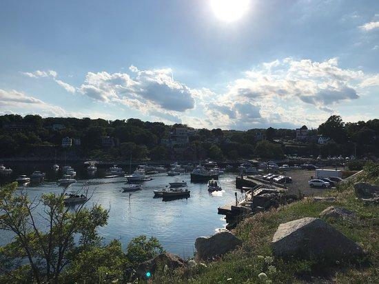 Private Tagestour von Boston zu den Fischerdörfern Rockport und Gloucester an der Nordküste: Gloucester harbour