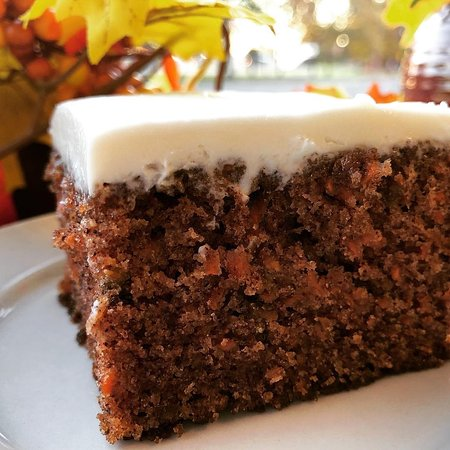 Mom's made-from-scratch Carrot Cake!