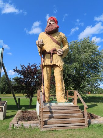 Ranier, MN: Big Vic the Voyageur