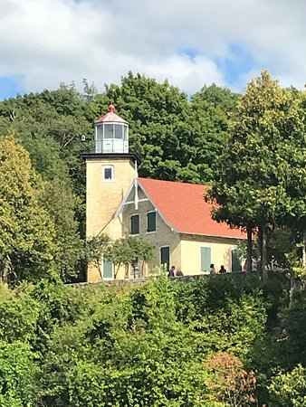 Beautiful views of everything including a lighthouse