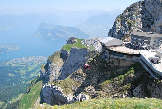 Mount Pilatus Summer Day Trip from Lucerne: view of visitor center