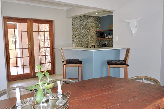Milkwood Trail Cottage (sleeps 4 adults, 2 kids). Full kitchen and dining.