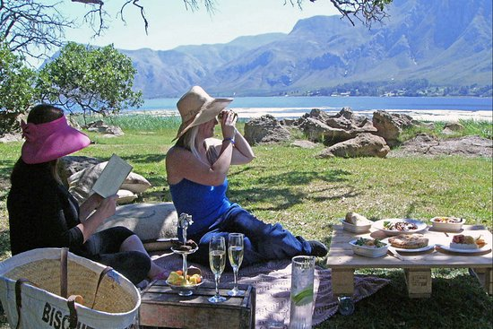 Picnics on the Lagoon edge at Lagoon Cafe' by MOSAIC Cottages.