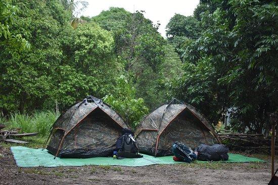 Siĕm Réabin maakunta, Kambodža: Camping at kulen mountain