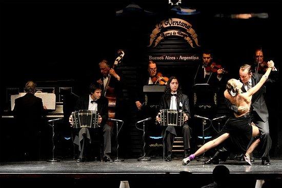 La Ventana tangoshow med valgfri...