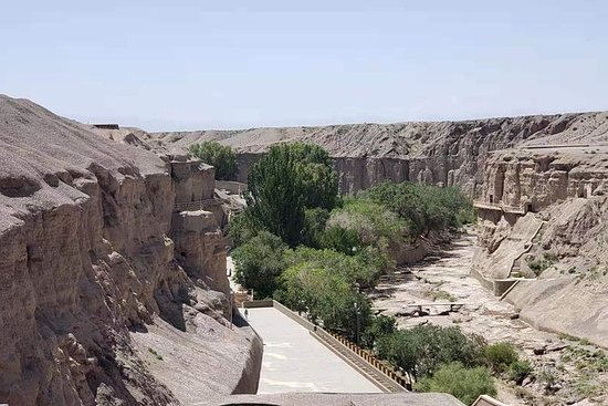 Best of Dunhuang-Tagestour zu den Yulin-Grotten und den...