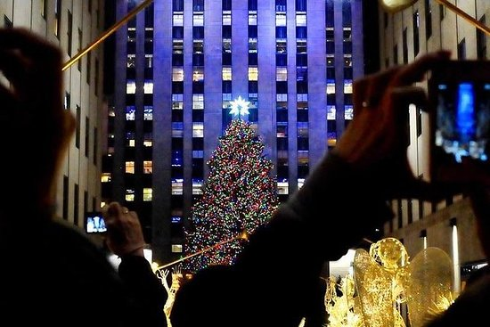 NYC Holiday Lights Tour med Limousine