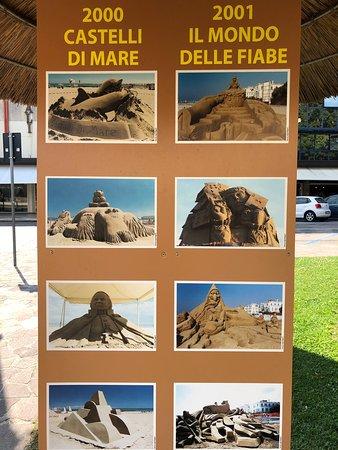 Jesolo Sand Nativity: Krásné sochy,ale v předchozích letech mohly být také krásné. Zvlášť na pláži.