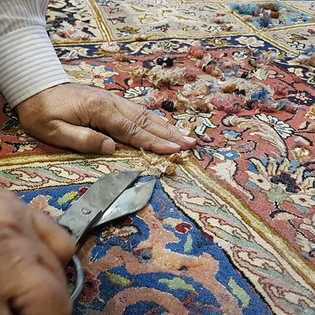 Persian carpet repair. Abee Rugs (The house of Persian carpets) can repair all type oriental hand-knotted carpets and rugs. To view Abee Rugs service   *Carpet Repair video link*👇 http://abeerugs.com/carpet-repairing-and-restoring-process  *Carpet Washing Video*👇 http://abeerugs.com/carpet-cleaning-and-washing  📲WhatsApp your inquiry http://www.wasap.my/60122786786  #CarpetRepair #CarpetWash #CarpetCleaning #CarpetTrial #OrintalCarpetWash #OrientalCarpet #TribalCarpet #VillageCarpet #TribalRu
