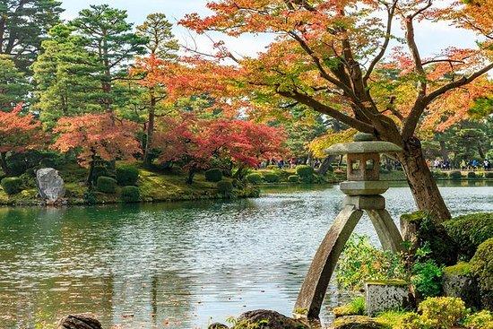白川郷、兼六園、琵琶湖を経由しながら高山から大阪に向かう片道日帰りツアー