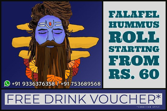 Indian Culture Food Court: Free drinks*