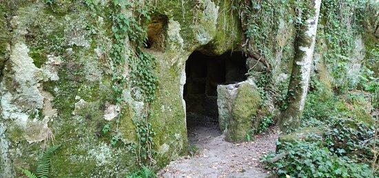 Cascate Torrente Castello: Una tomba etrusca?