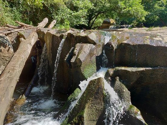 Cascate Torrente Castello: Dettaglio