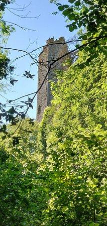 Cascate Torrente Castello: La torre di Chia