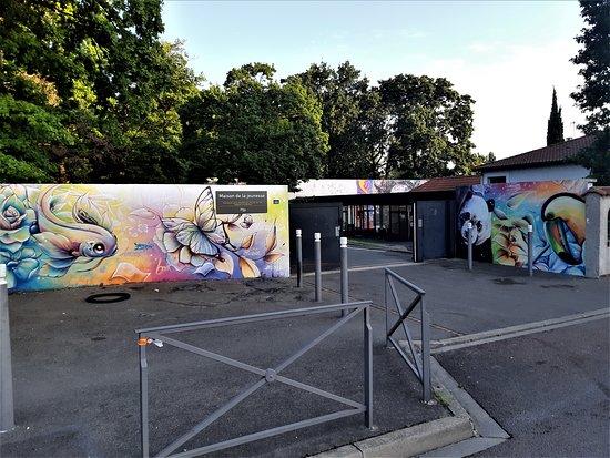 """Fresque """"Maison de la jeunesse"""""""