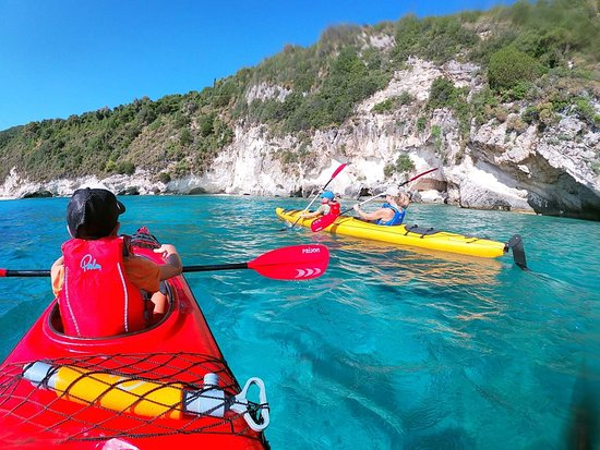 Adventure Zone: We are very happy when the parents give the opportunity to their children to come closer to nature through a sport like sea kayak