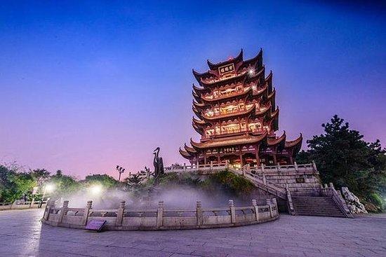 4小时步行游览武汉黄鹤楼和东湖,乘船游览