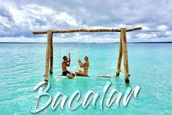 Bacalar 7 Color Lagoon from Playa del Carmen and Tulum