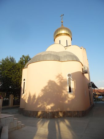 Russian Orthodox Church: church - rear view