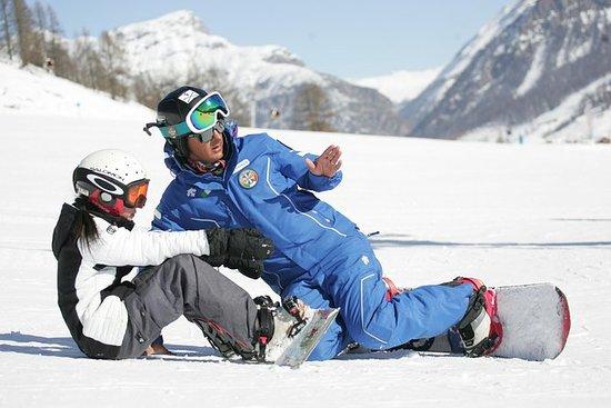 Lecciones privadas de snowboard