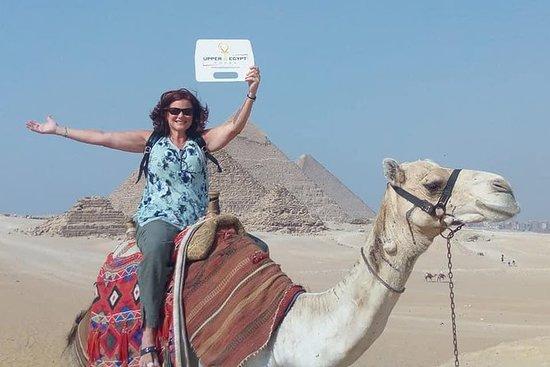 Half Day Tour to Giza Pyramids with Camel-Riding