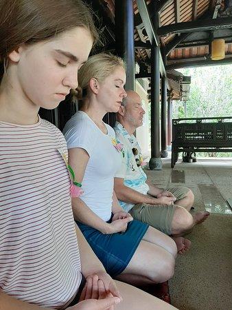 Meditation at Zen House