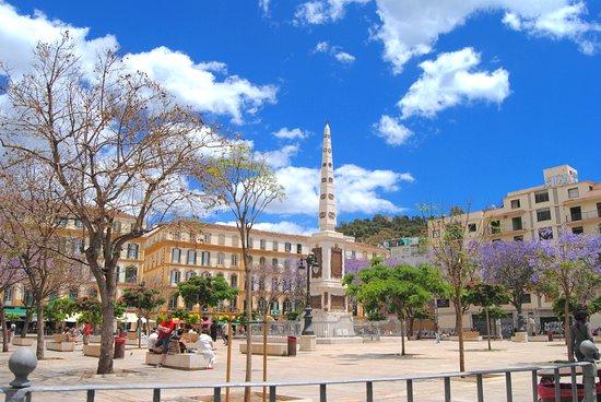 Plaza de la Merced, Málaga. Lugar de nacimiento de Pablo Picasso.