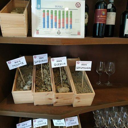 """Μοντεπουλτσιάνο, Ιταλία: Diversi tipi di terreno sui quali crescono le viti di Sangiovese che produrranno  un vino con caratteristiche  diverse ...non chiamiamolo semplicemente """" Nobile di Montepulciano""""...le differenze si assaporano"""
