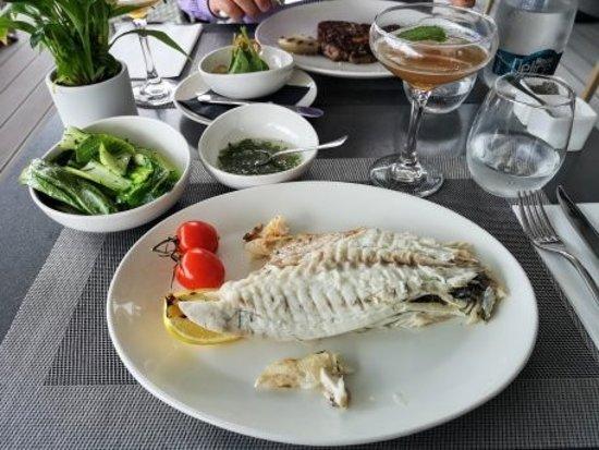 TRUE Steaks & Seafood RESTAURANT: Absolut köstlicher Fisch.