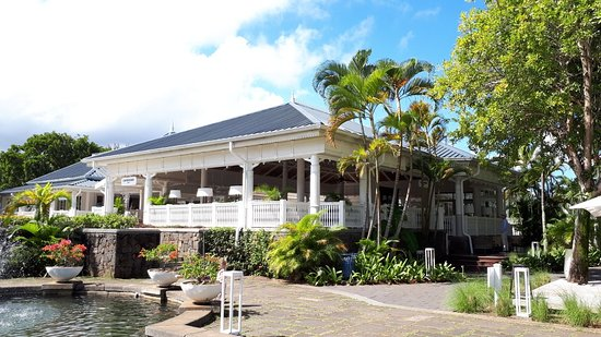 Entrance - Heritage Le Telfair Golf & Wellness Resort Photo
