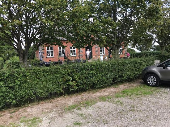 Soeby, Denemarken: På alle 18 huller er der udsigt over Lillebælt. Bare så smukt