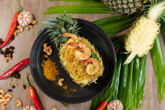 Enjoy most tropical dishes