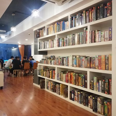 Number Eight Board Games & Cafe