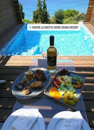 Mayor La Grotta Verde Grand Resort: Chambre AVEC Piscine Privée à débordement ...